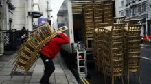 UK economy's strong growth since Brexit vote starts to slow