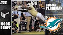 120 NFL Mock Draft: Miami Dolphins Select Breshad Perriman