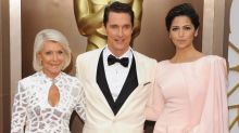 Matthew McConaughey's Mom Turns 85 and Is Given a Super Power Lift Bra by Camila Alves