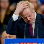 Election poll: Tory majority halved but Boris Johnson still on course for victory, according to YouGov