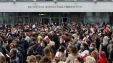 """Grève en Biélorussie : """"Notre seule chance, c'est d'étouffer économiquement le régime"""""""