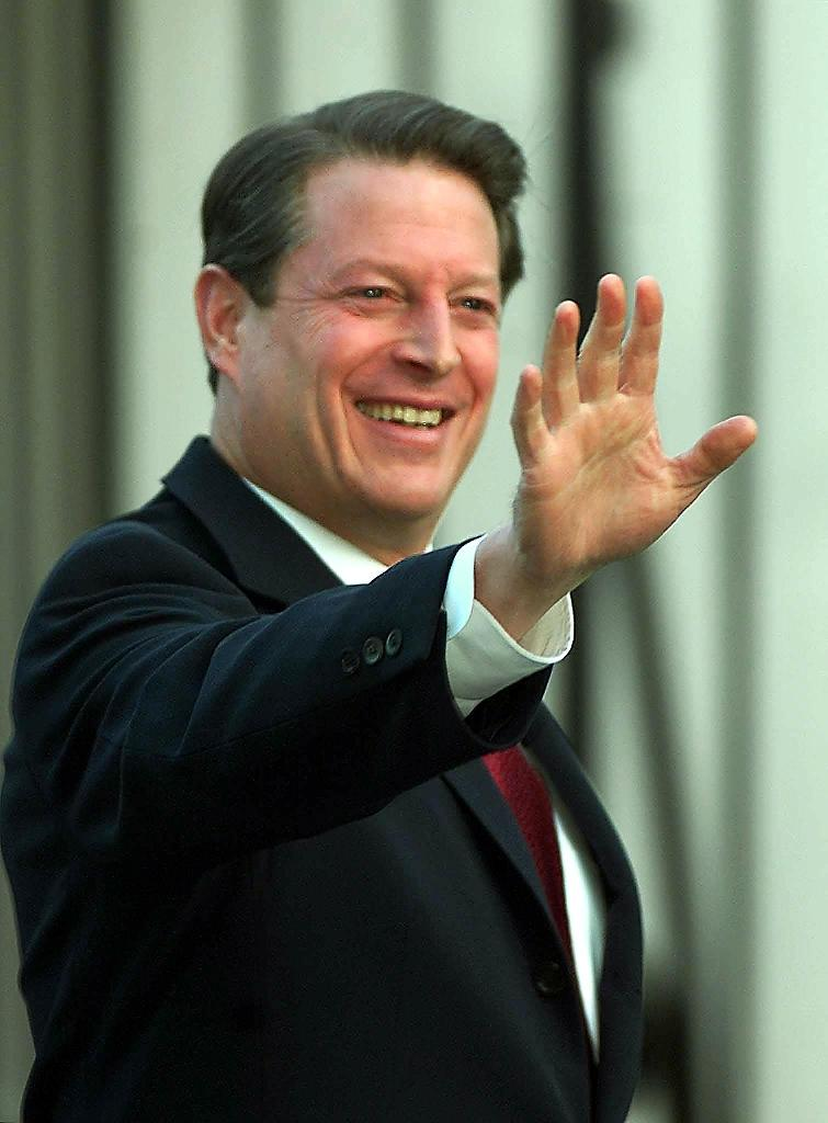 """""""The purpose is to have a billion voices with one message to demand climate action now,"""" Al Gore (pictured) said (AFP Photo/Luke Frazza)"""