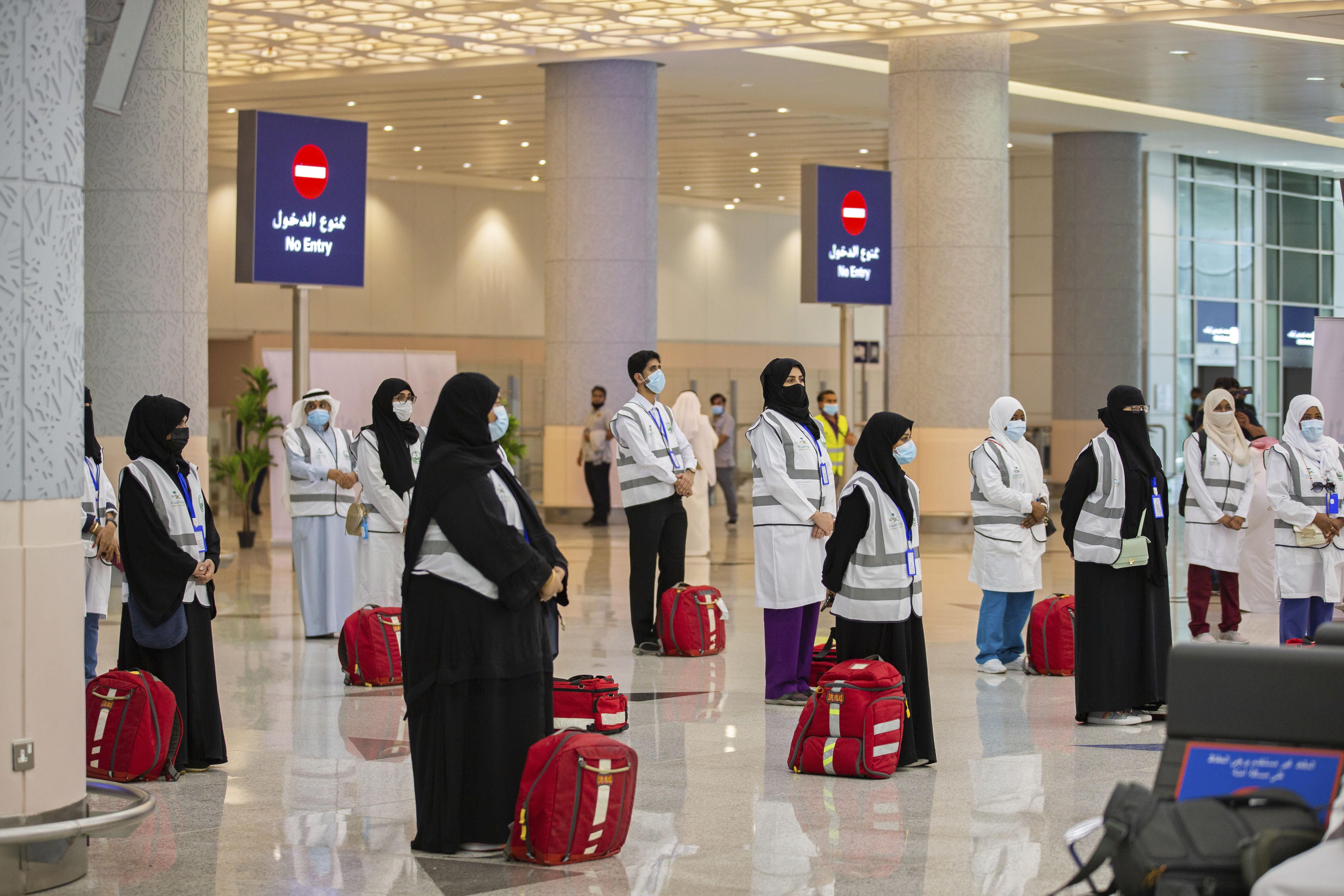 Scaled-back Hajj pilgrimage due to start in Saudi Arabia