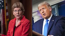 Elizabeth Warren claims Trump is 'flirting with treason' and that Republicans are 'a party to it'