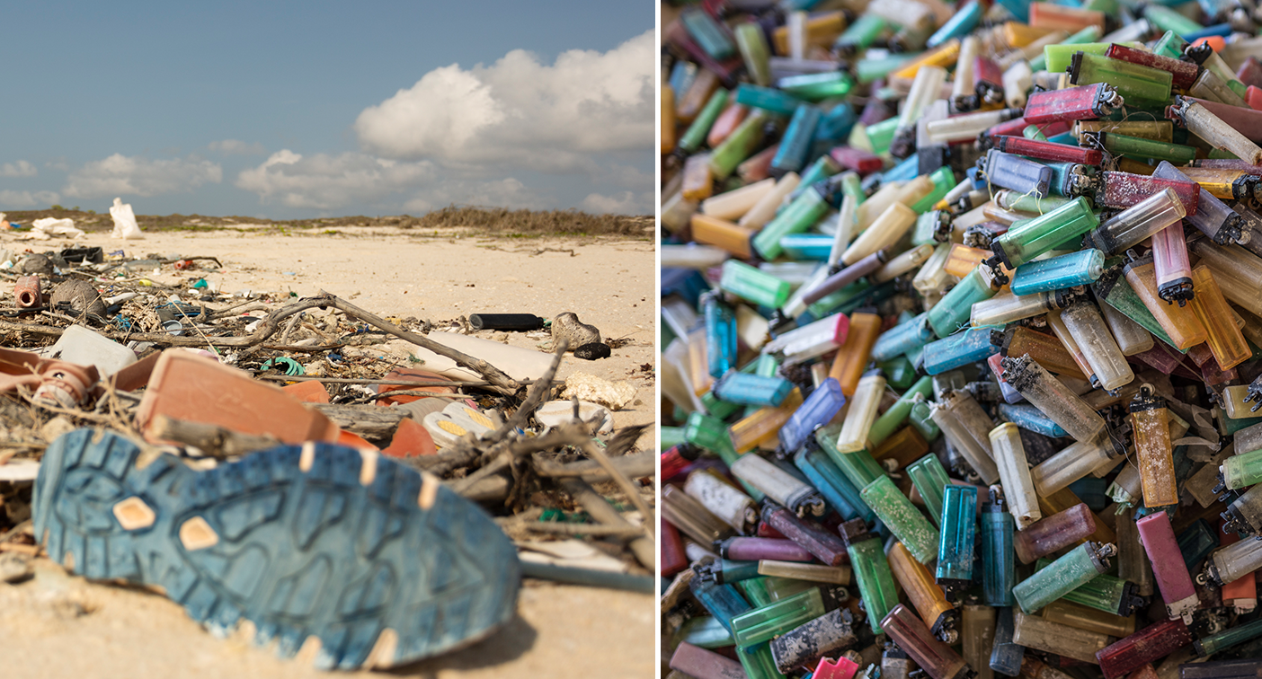 'Sickening': The sacred and remote beach clogged with tonnes of plastic