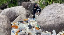 Malaysia's battle against plastic waste spans beaches and city shops