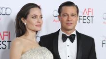 Brad Pitt only found out about his divorce from Angelina Jolie on Monday