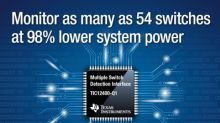 Slash system power usage with TI's new fully integrated switch and sensor monitors