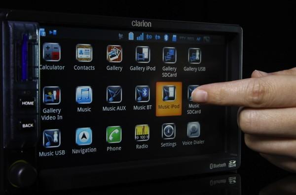 Clarion's Android-running Mirage IVI: a head unit that can play Angry Birds