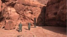 Metal monolith discovered deep in Utah desert leaves officials baffled