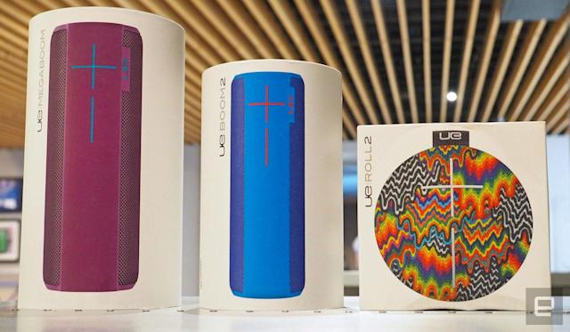 Engadget giveaway: Win a complete set of Ultimate Ears Bluetooth speakers!