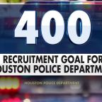 Houston hires 400 more officers amid calls to defund the police