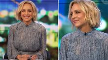 Project host Carrie Bickmore's 'beautiful' blue dress a hit with fans