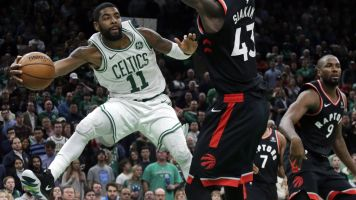 Did Kyrie Irving just have his best game as a Boston Celtic?