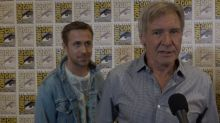 Watch Ryan Gosling Photobomb 'Blade Runner 2049' Buddy Harrison Ford