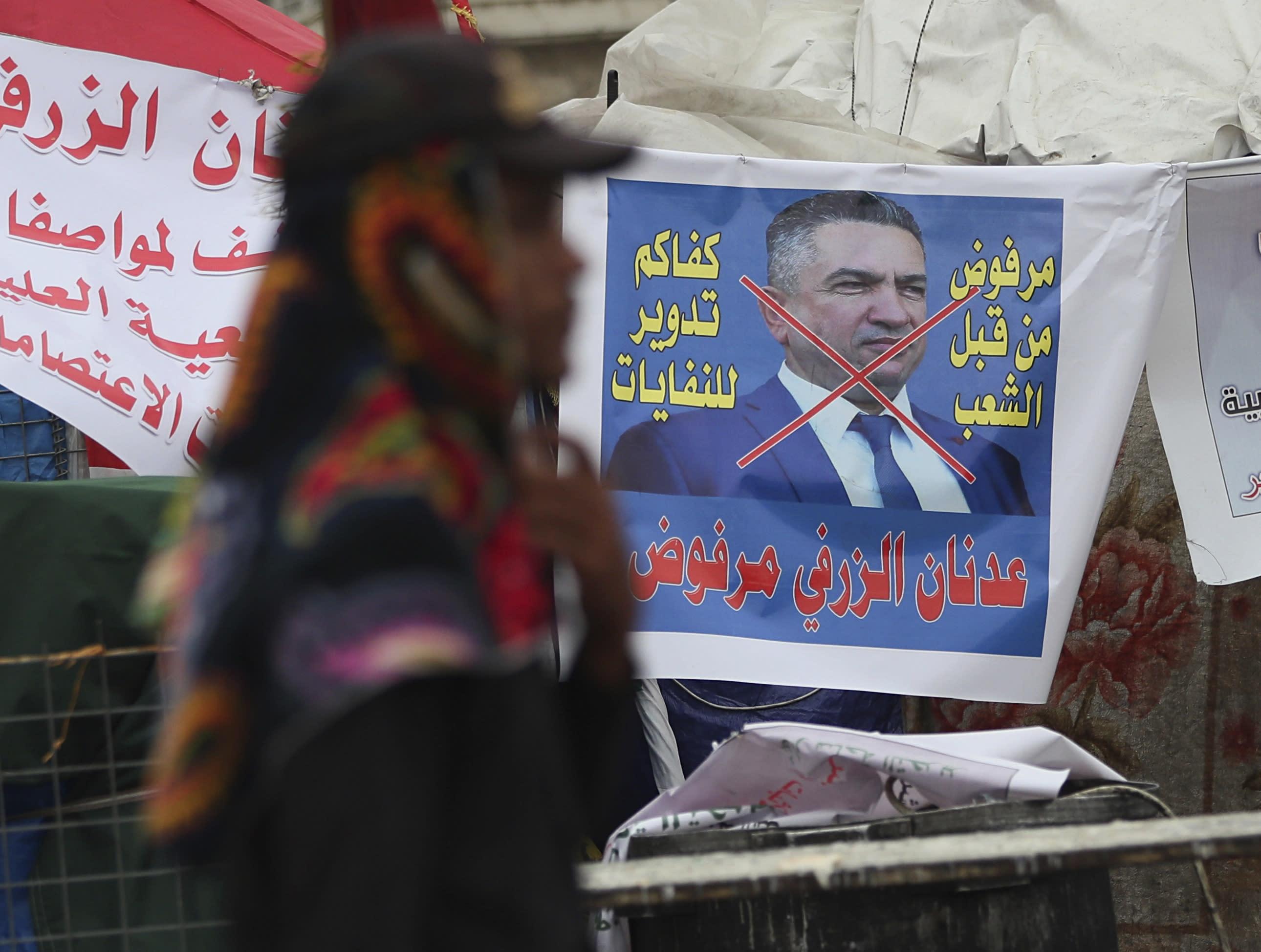 Iraq president nominates third PM in ten weeks