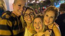 Andrea Veiga reúne Xuxa e ex-paquitas em festa de 50 anos: 'Muito amor'