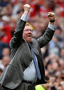 Ferguson enjoys crucial Man U win over Chelsea
