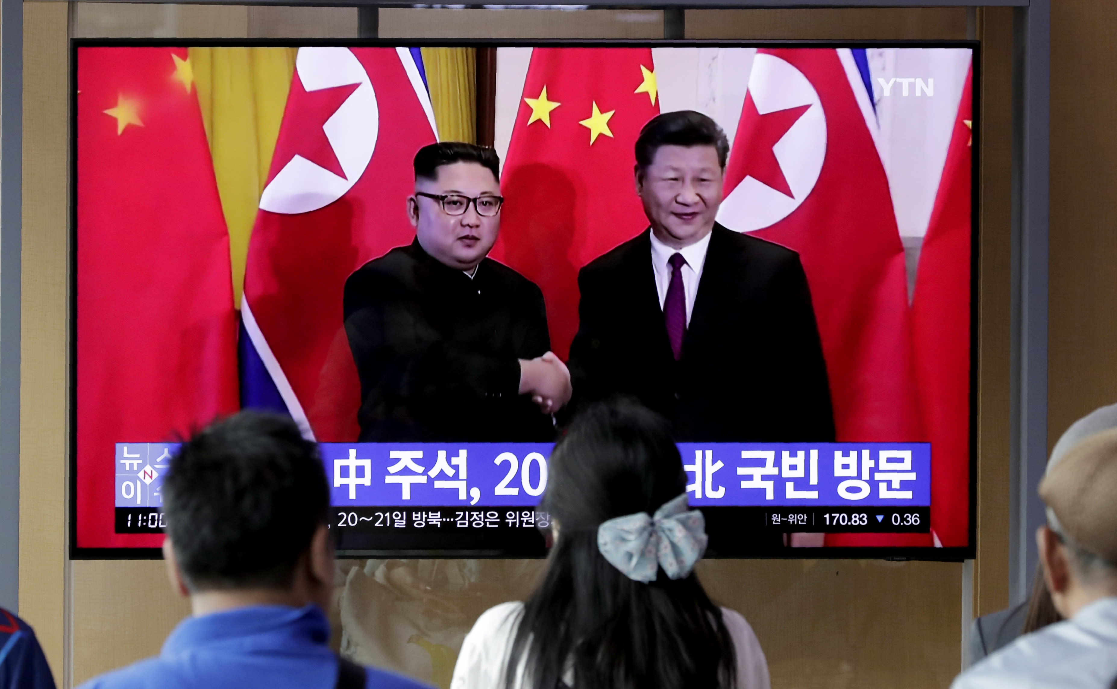 Xi, Kim summit topics: Friendship, food aid and maybe nukes