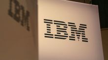 IBM returns to growth after six years, but dour forecast hits shares