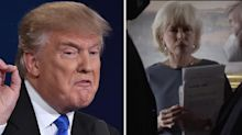 US Election: Trump 'abruptly walks out on TV interview', attacks host