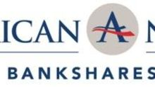 American National Bankshares Reports First Quarter Earnings