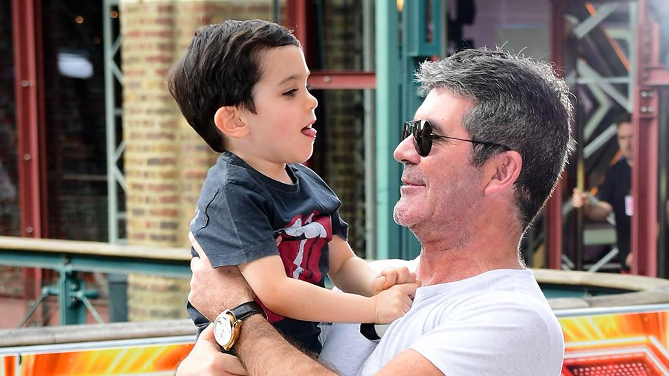 Simon Cowell shares sweet letter from six-year-old son Eric