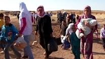 Syrian Refugees Running for Their Lives to Jordan
