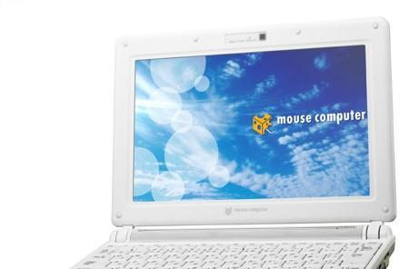 Mouse Computer's new netbook sports DVD-Rom, little else of note