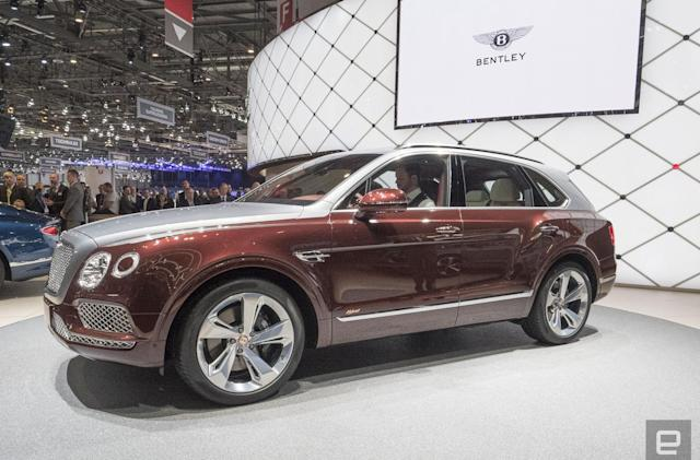 Bentley's first plug-in hybrid is an ultra-luxurious SUV