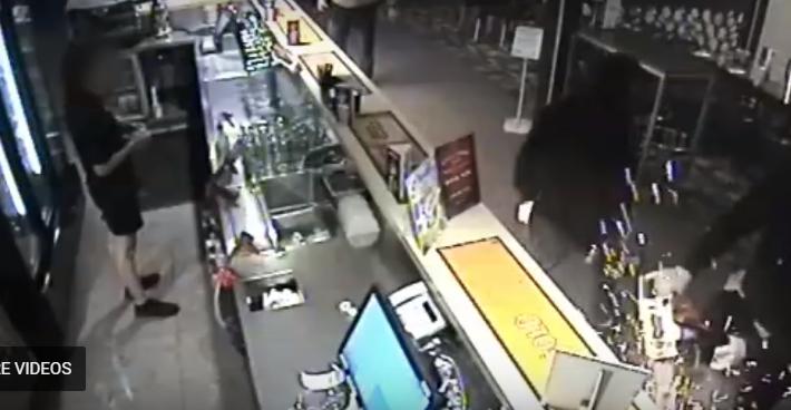 Dangerous operation of a vehicle, South Brisbane
