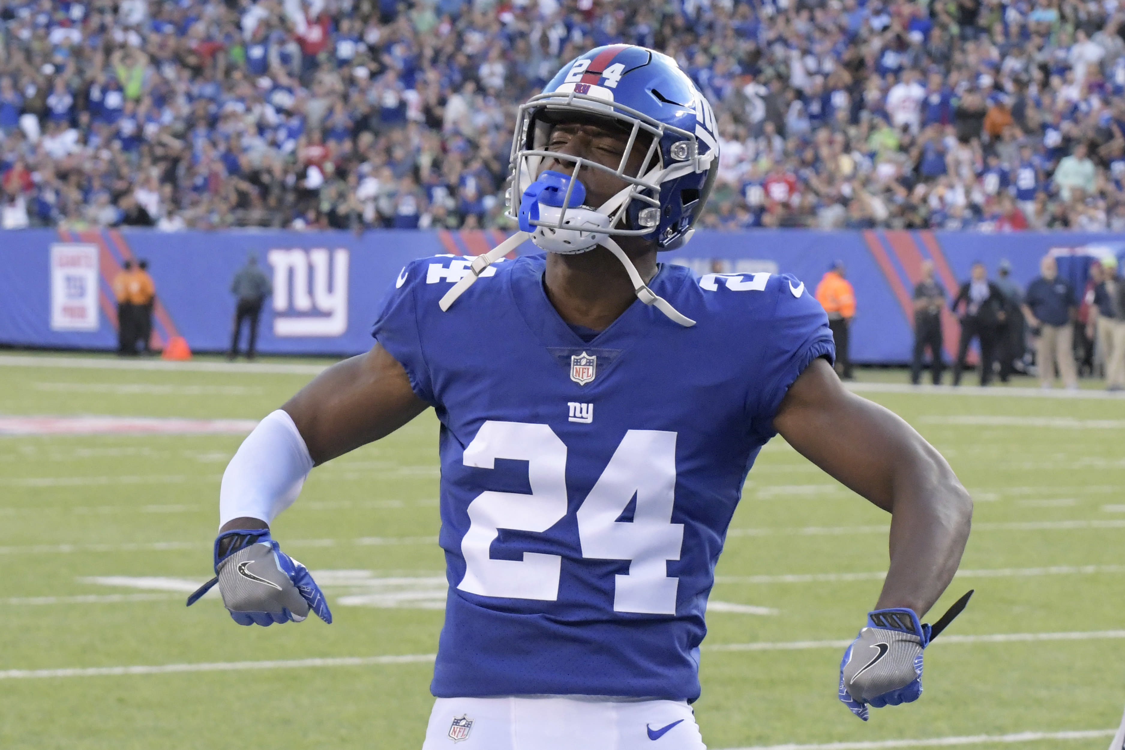 Eli Apple and Landon Collins are feuding all of a sudden