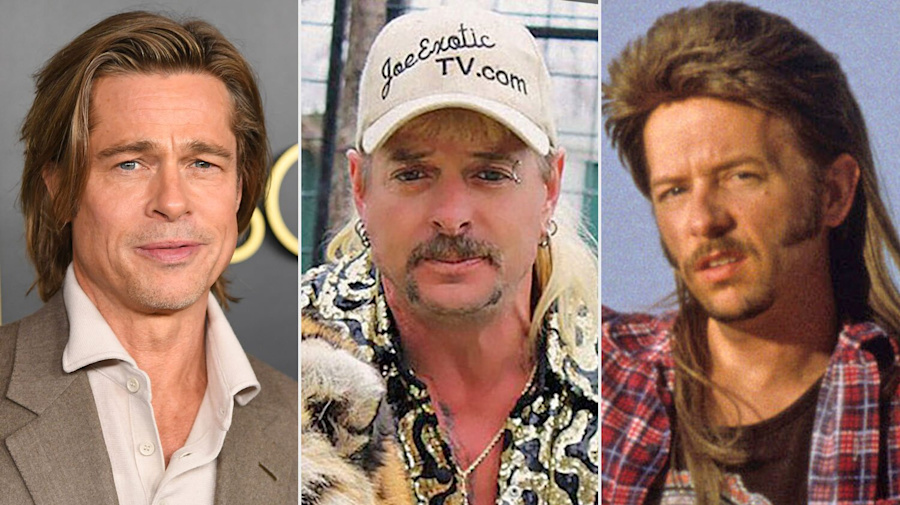 Ellen DeGeneres Hilariously Compares Her Former Mullet Hairstyle to Tiger King 's Joe Exotic