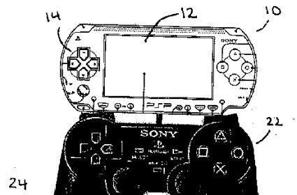 Sony patent shows the SIXAXIS getting friendly with a PSP