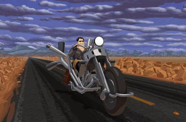 Classic motorcycle adventure game 'Full Throttle' hits iOS