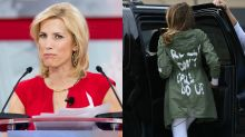 Fox News' coverage of Melania Trump's jacket is #hypocrisy according to Twitter