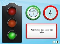 Silent Light helps teachers control the noise in their classrooms
