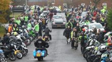 Harry Dunn: Hundreds of bikers pay tribute as they follow teenage crash victim's last ride in Brackley