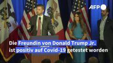 Freundin von Donald Trump Jr. positiv auf Coronavirus getestet