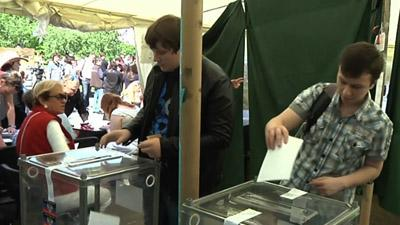 Ukraine Regions Hold Sovereignty Vote