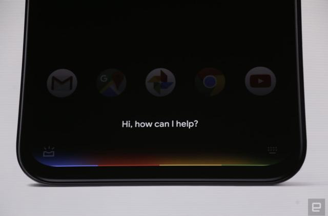 Google Assistant has a new look on the Pixel 4