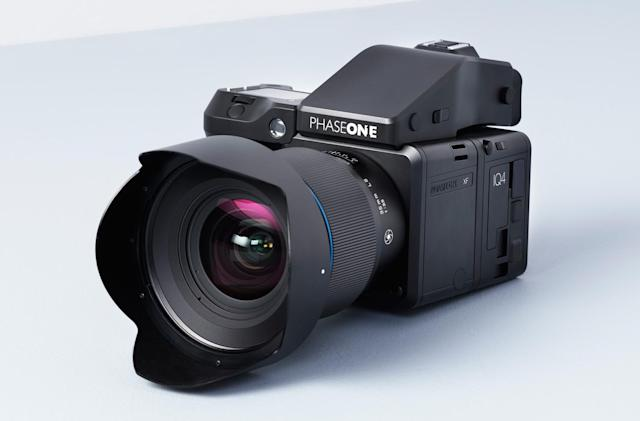 Phase One stuffs a 151-megapixel sensor into a medium format camera
