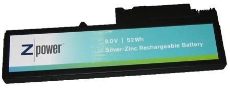 ZPower promises to deliver Silver-Zinc laptop batteries in 2009