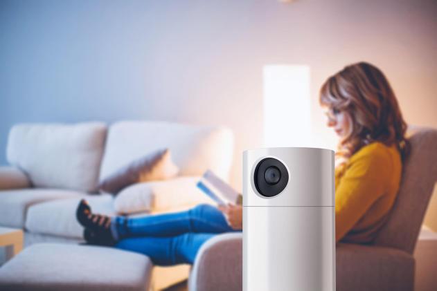 Toshiba's Symbio is both a security camera and Alexa speaker