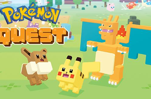 'Pokémon Quest' is now available on iOS and Android