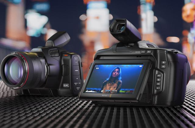 Blackmagic Design's $2,495 BMPCC 6K Pro camera has a super-bright HDR display