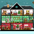 How Fast Can You Find All 6 Turkeys Hiding in This Christmas Scene?