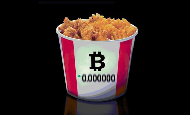 Bitcoin was briefly legal tender at KFC Canada