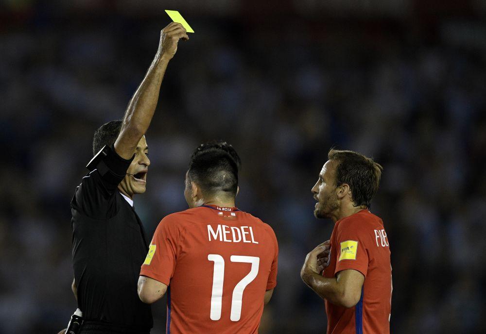 La polémica jugada en la que le anularon el gol a Fuenzalida