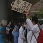 NY healthworkers rally for Black Lives movement